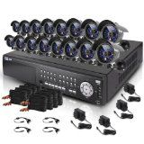 Zmodo New 16 CH All D1 Super Digital Recorder HDMI SDVR Security Surveillance Camera System With 16 Sony CCD Sensor Night Vision Camera 2TH Hard Drive Security Surveillance, Surveillance System, D1, Night Vision, Sony, Photo And Video, Digital