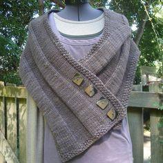 NobleKnits.com - Imagine Knit Designs - Grace 4-Button Shawl Pattern, $6.95 (http://www.nobleknits.com/imagine-knit-designs-grace-4-button-shawl-pattern/)