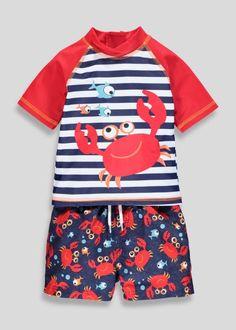 342f5e272f Kids Swim Rash Vest   Shorts Set (6mths-6yrs) Natação Infantil