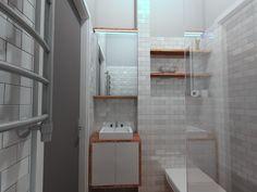 very small (1,5 x1,7 m)bathroom