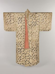 Noh Costume (Surihaku) with Chinese Bellflowers Period: Edo period (1615–1868) Date: 18th century Culture: Japan Medium: Gold and silver leaf on silk satin Accession Number: 32.30.5