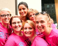 Freida joined the The Because I am a Girl team for a quick pic in New York City.