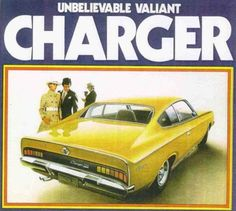 1971 Chrysler VH Valiant Charger Poster by R Muirhead Art Chrysler Charger, Dodge Chrysler, Dodge Charger, Aussie Muscle Cars, American Muscle Cars, Chrysler Valiant, Michigan, Plymouth Valiant, Automobile