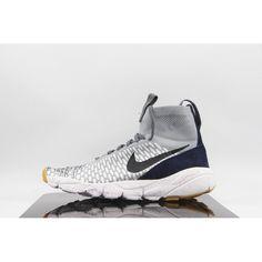 check out c02b2 c4104 Ny Nike Air Footscape Magista Flyknit Gra Bla Herr Skor