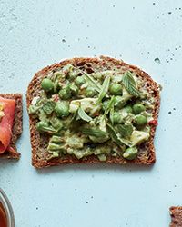 These terrific vegetarian sandwiches get heat from Thai chiles and a hit of freshness from tarragon and mint.