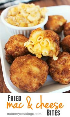 Beautiful Fried Macaroni & Cheese Bites Recipe — perfect appetizer, party food or snack idea for the Big Game! The post Fried Macaroni & Cheese Bites Recipe — perfect appetizer, party food or snack idea for the Big Game!… appeared first on 2019 Recipes . Snacks Für Party, Appetizers For Party, Appetizer Recipes, Avacado Appetizers, Prociutto Appetizers, Mexican Appetizers, Elegant Appetizers, Halloween Appetizers, Appetizer Ideas