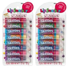 { lip smacker party pack lip balm in skittles }