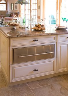 NDA Kitchens and Construction -  Refrigerated drawer under granite counter - would like this to store lunch stuff - sandwich meats, etc....