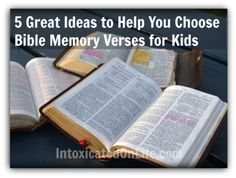 There are so many passages in the Bible? How do you choose Bible memory verses for kids? These are five tips for parents and teachers to keep in mind.