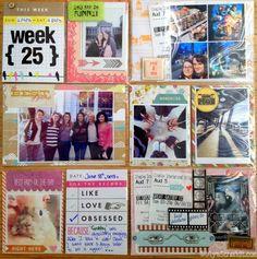 Week 25 Project Life 2013 by Olya Schmidt on Behance