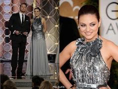 Mila Kunis with Channing Tatum ( left photo ) Mila at 71st Annual Golden Globe Awards ( January 12, 2014 ) shared to groups 3/25/17