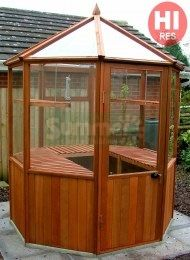 1000 images about 101 styles of greenhouses on pinterest for Octagonal greenhouse plans