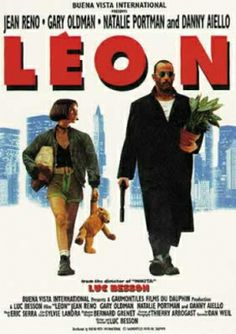 """""""Leon: The Professional"""" starring Jean Reno, Gary Oldman, Natalie Portman, Danny Aiello, Michael Badalucco; written and directed by Luc Besson. Jean Reno, Great Films, Good Movies, Film Movie, The Professional Movie, Leon The Professional Mathilda, Professional Poster, Mathilda Lando, Movie Poster Size"""