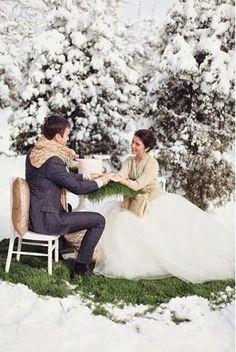 Qu@si Spos@: matrimonio in inverno...