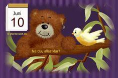Juni, Teddy Bear, Night, Day Of Year Calendar, February, Teddy Bears