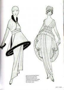 Diseños de Poiret