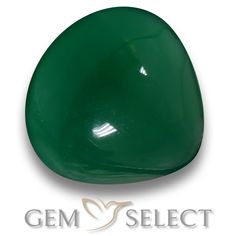 GemSelect features this natural Agate from India. This Green Agate weighs 6.8ct and measures 12.3 x 12.1mm in size. More Pear Cabochon Agate is available on gemselect.com #birthstones #healing #jewelrystone #loosegemstones #buygems #gemstonelover #naturalgemstone #coloredgemstones #gemstones #gem #gems #gemselect #sale #shopping #gemshopping #naturalagate #agate #greenagate #peargem #peargems #greengem #green Green Gemstones, Loose Gemstones, Natural Gemstones, Agate Gemstone, Gemstone Colors, Buy Gems, Green Agate, Gem S, Shades Of Green