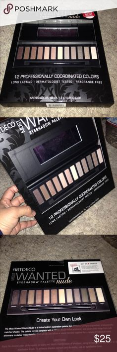 ARTDECO Nude Eyeshadow Palette ARTDECO Most Wanted Nude Eyeshadow Palette.. Brand New in Package..Great for a Gift ARTDECO Makeup Eyeshadow