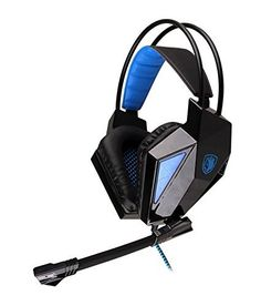 Find best price for [ Upgraded Version of Sades 708 ] AFUNTA Sades 709 Wired Professional Game Headphone Gaming Headset Stereo Earphone with Mic Micphone for PC Desktop Laptop Notebook Android Tablet Smartphone Cell Phone iPhone iPad iPod (black) Cute Headphones, Headphones With Microphone, Bluetooth Headphones, Macbook Laptop, Audio, Gaming Headset, Ear Headbands, Notebook Laptop, Computer Accessories