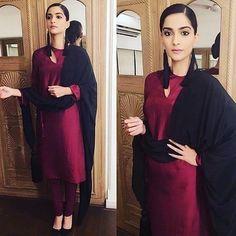 "cosmoindia: ""@sonamkapoor shows the simple yet classy way to wear a kurta in @rashmivarma #cosmoindia #cosmofashion #cosmostylefile #bollywood #bollywoodnews #bollywoodstyle #bollywoodtrend #bollywoodfashion #bollywoodactress #sonamkapoor #bollywoodmovie #neerja #instabollywood #instafashion #instadaily"""