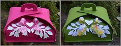 Feltro: Porta dolci (di A. Contarin) - Feltro - Hobbydonna.it - Il portale degli hobby femminili