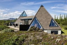 These Airbnbs Will Blow Your Mind (Not Your Budget) #refinery29  http://www.refinery29.uk/best-airbnb-crazy-rentals#slide-13  Cottage, Laugarvatn, IcelandSharp, slick, and blissfully isolated, this spiky two-bedroom rental offers the ultimate escape from urban life. The only thing you'll find around here is an outdoor hot tub surrounded by wild blueberries, trees, and crowberries.£159/night...