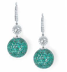 Diamond Jewelry, Diamond Earrings, Drop Earrings, Ultra Violet, Turquoise Necklace, Crochet Earrings, Fine Jewelry, Fashion Jewelry, Bangles