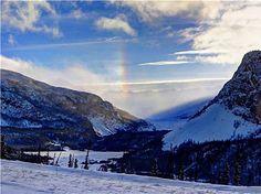 "AccuFan Weather Photo of the Day: Sun Dog in Alaska by ""akace62"" 1/18/2013 in the Chugach Range, AK."
