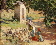 Alberto Pla y Rubio (1867-1937) Spanish Painter ~ Blog of an Art Admirer