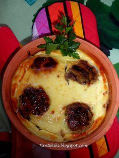 Κεφτεδάκια με κρεμμύδια και σώς γιαουρτιού στο φούρνο - Tante Kiki