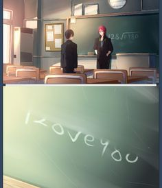 Ahh, so cute. Rin and Haru
