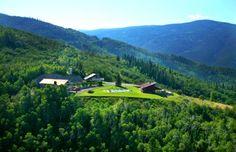 Beautiful private estate in Steamboat, Colorado for event rental.