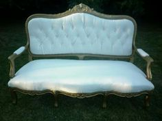 venta se sillon antiguo de estilo luis xv