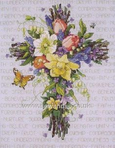 Shop online for Spring Floral Cross Cross Stitch Kit at sewandso.co.uk. Browse our great range of cross stitch and needlecraft products, in stock, with great prices and fast delivery.