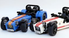 Like the real thing, Lego Caterham Seven will be offered in kit form.
