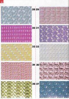 lacy crochet stitches 精品钩针新花样600种---彩图1 - 彤彤 - 一泓清梦