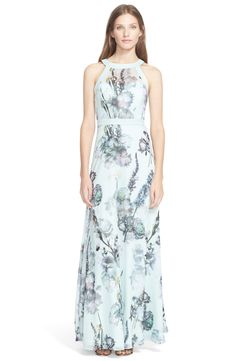 Ted Baker London 'Marxel Torchlit' Floral Print Maxi Dress