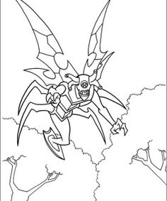 Ben 10 coloring page 54
