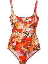 Givenchy - floral print swimsuit #genteroma