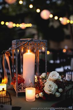 Garden Wedding - Candlelight