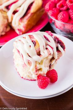 Raspberry Cinnamon Rolls with Cream Cheese Frosting | Community Post: 20 Ingenious Ways To Eat More Raspberries