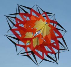 Ten Point Double Star Kite | UP in the air - Kites | Pinterest ...