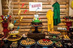 Detetives do Prédio Azul é uma série do canal Gloob que o Rafael adora! Por isso, sua festinha de 6 anos foi nesse tema. A decoração, assinada pela Lollis, Happy Birthday, Birthday Cake, Cat Noir, Party Time, Desserts, Adora, Food, Parties, Events