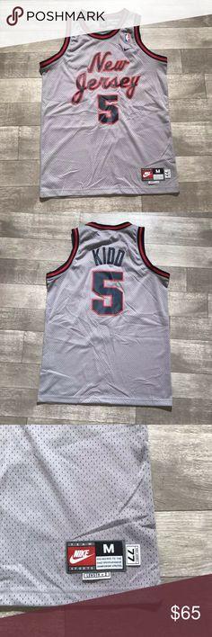 3b6ef1b0aad New Jersey Nets Jason Kidd Nike NBA JerSEY vtg New Jersey Nets Jason Kidd  Nike NBA