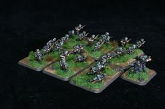 Falschirmjager Scout Platoon for Flames of War. Painted by Panzer Schule.
