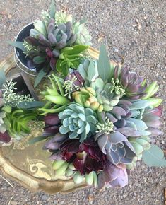 This color and texture combination is one of my favorites. Its vibrant and natural at the same time. Pictured also is a crown, wrist corsage and boutonnieres. To order, either: Purchase from this listing. Write ideal delivery date and any custom ideas in order notes. With this