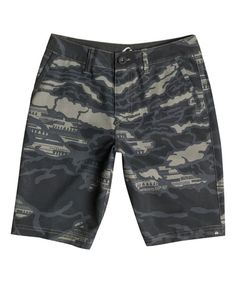 Love this Dusty Olive Mo Amphibian Reflector Shorts - Toddler & Boys on #zulily! #zulilyfinds