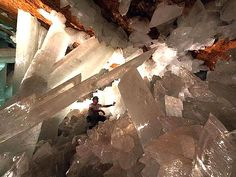 Crystal Cave of the Giants, Naica, Mexico