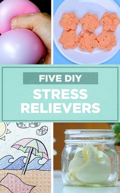 These 5 DIY stress relievers are the perfect way to help melt away holiday worries.