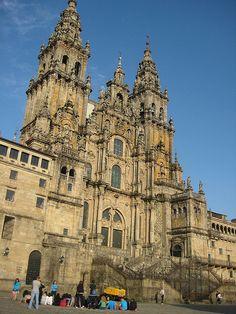 El Camino Real  Santiago De Compostela, Spain  Cathedral of St. James
